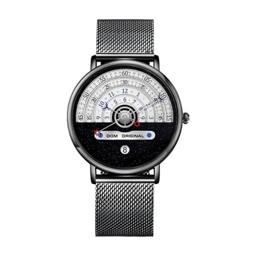 Годинники наручні DOM M-1288 кварцові - Чорний