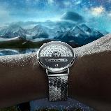 Годинники наручні DOM M-1288 кварцові - Чорний, фото 4