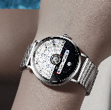 Годинники наручні DOM M-1288 кварцові - Чорний, фото 5