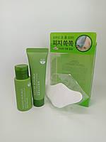 Набор для удаления черных точек, Nature Republic, Bamboo Charcoal Nose & T-zone Pack