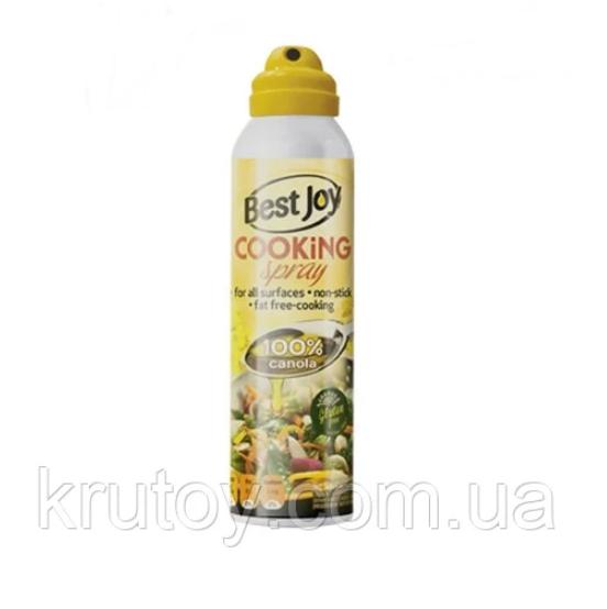 Кулинарное масло-спрей канола без жира Best Joy Cooking Spray 250 ml canola