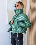 Качественная женская теплая куртка! Размеры: от 42 по 48!, фото 3