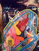 """Воздушные шары YF-519 """"Yuefan balloons"""", набор 50шт с рисунком"""