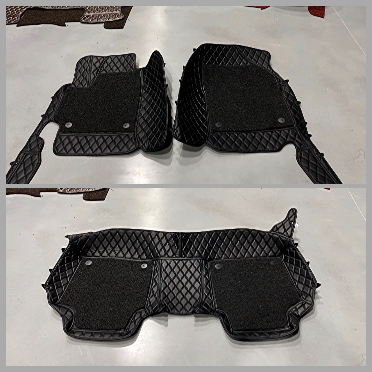 Комплект Килимків 3D Toyota Camry 40 + дод килимки ПВХ