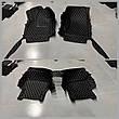 Комплект килимків з екошкіри для Audi Q7, від 2010 року, фото 4