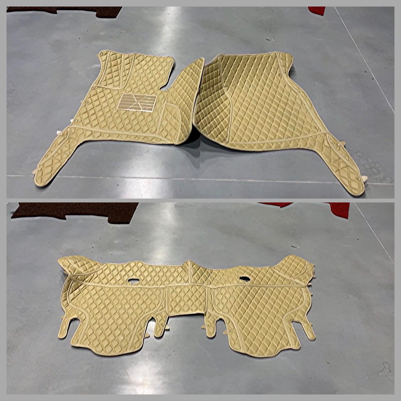 Комплект килимків з екошкіри для Audi Q7, від 2010 року