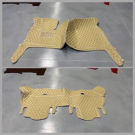 Комплект килимків з екошкіри для Audi Q7, від 2010 року, фото 2