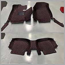 Комплект килимків з екошкіри для Audi Q7, від 2010 року, фото 3