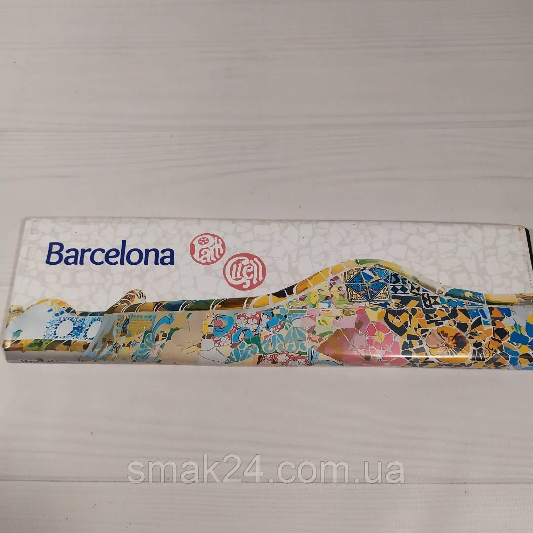 Шоколад молочный без глютена Torras Barcelona Park Guell 300г Испания