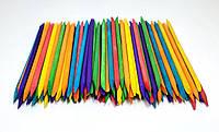 Апельсиновые палочки, цветные 100шт, фото 1