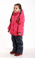 Зимний комплект для девочки (куртка + полукомбинезон) JANDA Polar Peach (персиковый) 122 см - KD-184-122