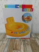 Детский надувной плотик ходунки Intex 70 см 56585, фото 3