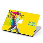 Чехол пластиковый для Apple MacBook Pro / Air Квин Фредди Меркьюри (Queen Freddie Mercury) макбук про case