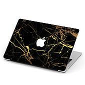 Чехол пластиковый для Apple MacBook Pro / Air Черный мрамор (Marble Black) макбук про case hard cover