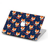 Чехол пластиковый для Apple MacBook Pro / Air Лисица (Fox) макбук про case hard cover, фото 1
