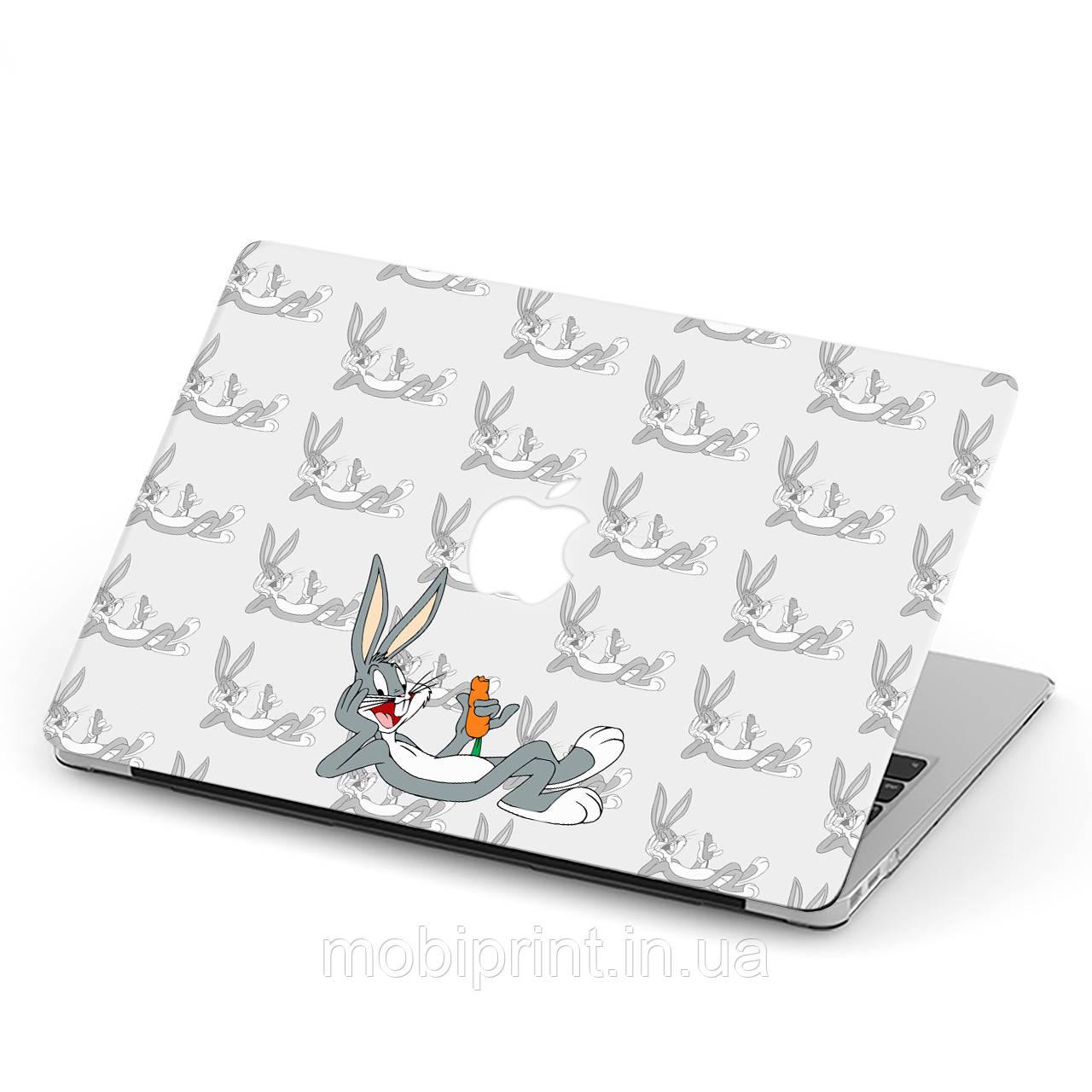 Чехол пластиковый для Apple MacBook Pro / Air Багз Банни (Bugs Bunny) макбук про case hard cover