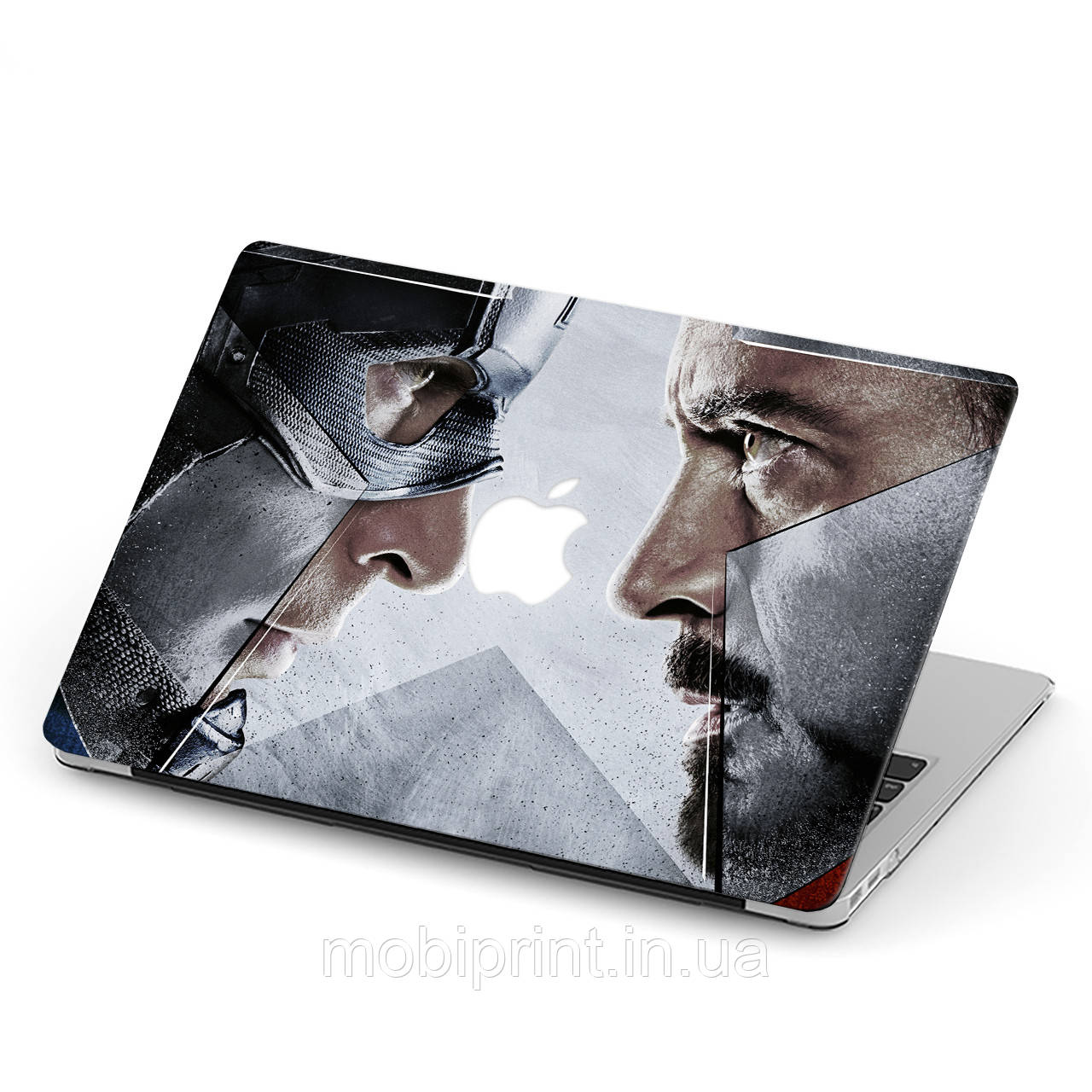 Чехол пластиковый для Apple MacBook Pro / Air Марвел (Marvel) макбук про case hard cover