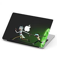 Чехол пластиковый для Apple MacBook Pro / Air Рик и Морти (Rick and Morty) макбук про case hard cover, фото 1