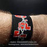 Напульсник резиновый на руку с накатом ГРАЖДАНСКАЯ ОБОРОНА, фото 2