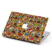 Чехол пластиковый для Apple MacBook Pro / Air Арт (Art) макбук про case hard cover, фото 1