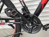 """Гірський Велосипед TopRider XYCLONE 26 Дюймів """"801"""" Чорно-Червоний, фото 8"""