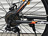 """Гірський Велосипед TopRider XYCLONE 26 Дюймів """"801"""" Чорно-Помаранчевий, фото 4"""
