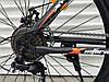 """Горный Велосипед TopRider XYCLONE 26 Дюймов """"801"""" Черно-Оранжевый, фото 4"""