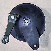 JS150-3 Тормозная система заднего колеса (крышка тормозного барабана с колодками) Jianshe - CF4-320000-0, фото 1