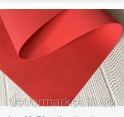 Фоамиран 1мм іранський червоний 50х50см