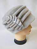 Удобные теплые шапки для женщин., фото 2