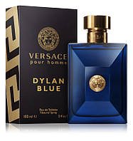Versace Pour Homme Dylan Blue Туалетная вода EDT 100ml (Версаче Пур Хом Дилан Блю) Мужской Парфюм Духи EDP