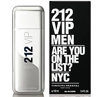Carolina Herrera 212 VIP Men Туалетная вода EDT 100ml (Каролина Херера Эрерра 212 Вип Мужской) Парфюм Духи EDP