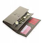 Шкіряний гаманець BETLEWSKI з RFID 17.8 х 9.5 х 4 (BPD-SA-12) - бежевий, фото 2