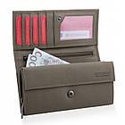 Шкіряний гаманець BETLEWSKI з RFID 17.8 х 9.5 х 4 (BPD-SA-12) - бежевий, фото 7