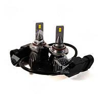 Комплект LED ламп HeadLight F1X HB3 (P20d) 52W 12V 8400Lm с активным охлаждением (увеличенная светоотдача), фото 1
