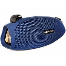 Портативная акустическая стерео колонка HOPESTAR H43 (Bluetooth, TWS, FM, MP3, AUX, Mic)