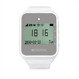 Часы пейджер для официантов с русским меню Retekess TD108 (100533)