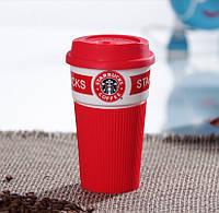 Термочашка Starbucks Эко Лайф 350 мл Красная (5170098841)