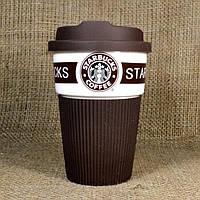 Термочашка Starbucks Эко Лайф 350 мл Коричневая (5170098842)