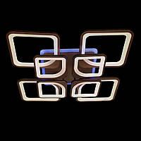 Светодиодная LED люстра 170 Вт c пультом управления и подсветкой D-9171/4+4CF LED3C