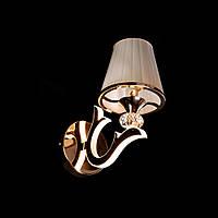 Бра в стиле современной классики на 1 лампочку с LED подсветкой рожков D-9430/1