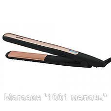 Утюжок выпрямитель для волос Gemei GM-2955W- Новинка, фото 2