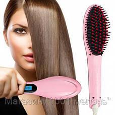 Расческа для выравнивания волос HQT-906- Новинка, фото 2
