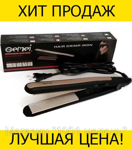 Утюжок гафре GM 2955W- Новинка