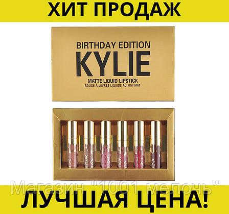 Набор матовых помад Kylie Birthday Edition 6шт, фото 2