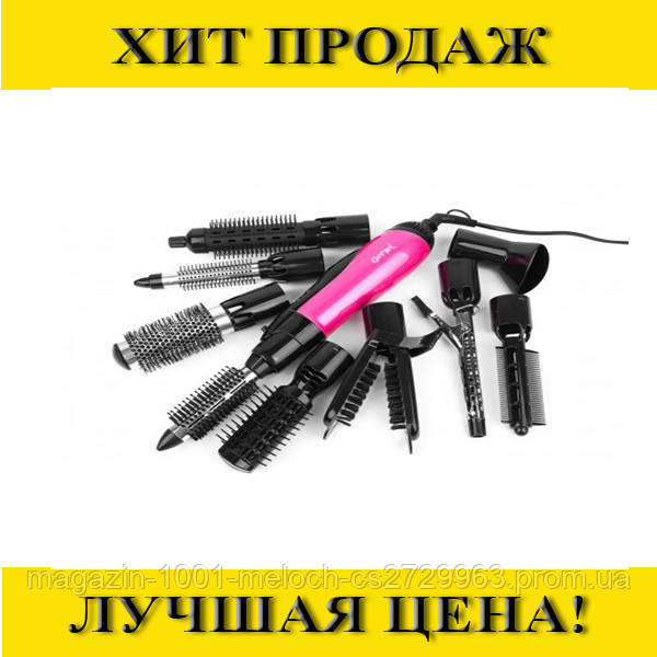 Фен-стайлер для волос 10в1 Gemei GM-4835- Новинка