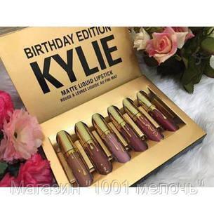 Набор матовых помад Kylie Birthday Edition, фото 2