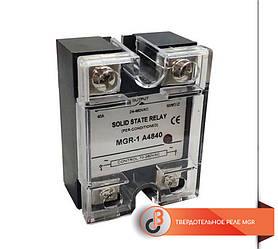Твердотельное реле MGR-1D48-40A 3-32VDC