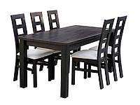Стол обеденный раскладной Гранте из массива Дуба