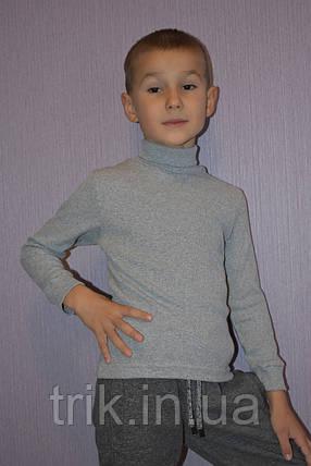 Водолазка серая детская, фото 2